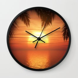 Love stories told here Wall Clock