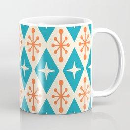 Mid Century Modern Atomic Triangle Pattern 107 Coffee Mug