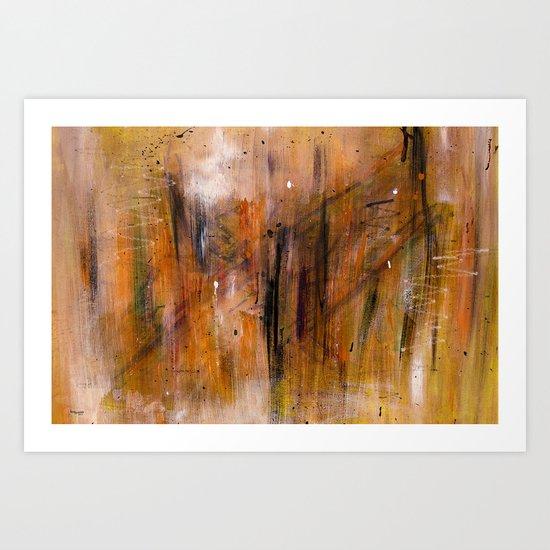 Acryl-Abstrakt 45  Art Print