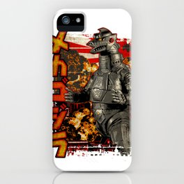 Robot King Pop iPhone Case