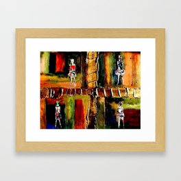 North Shore Girls Framed Art Print