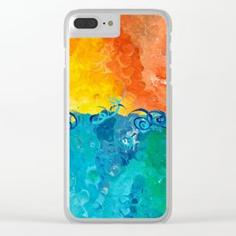 Saltwater's Gloaming Clear iPhone Case