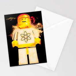 Retro Atomic Spaceman Stationery Cards
