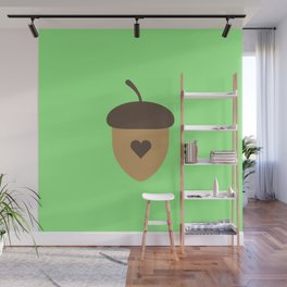 Acorn with heart T-Shirt for Women, Men and Kids Wall Mural
