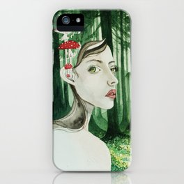 Forrest sprite iPhone Case
