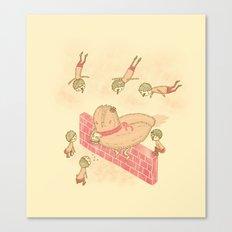 Bird food Canvas Print