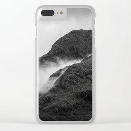 Scotlands Dark Highlands Clear iPhone Case
