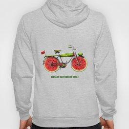 ORGANIC INVENTIONS SERIES: Vintage Watermelon Bicycle Hoody