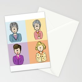 Golden Girls Character Combo Stationery Cards