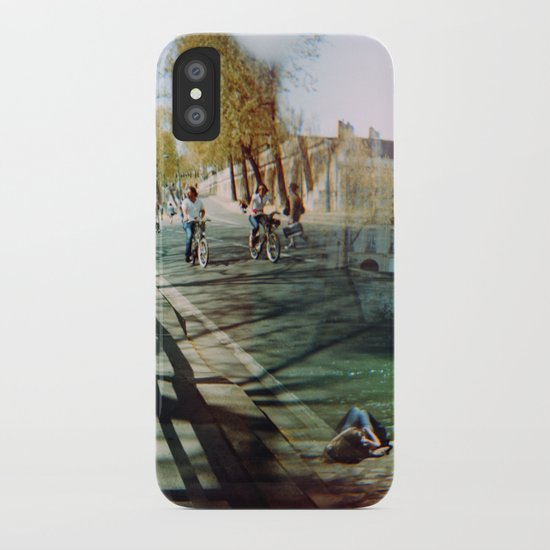 Paris in the Spring Time 2 iPhone Case