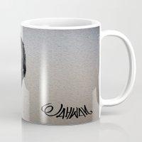 woody allen Mugs featuring WOODY ALLEN by Jahwan by JAHWAN