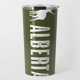 Deer: Alberta, Canada Travel Mug