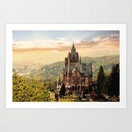 Castle. Art Print