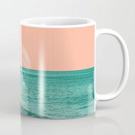 Ocean Moon Orange Coffee Mug