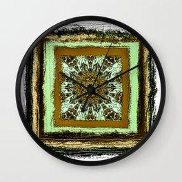 Rustica Mandala (8) B Wall Clock