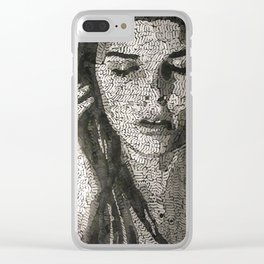 Listen to the sound Clear iPhone Case