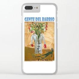 Estrella del arte conceptual 3 por Diego Manuel Clear iPhone Case