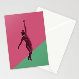 at the edge of yourself Stationery Cards