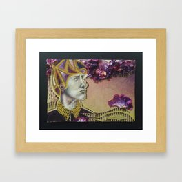 Flower Dreamer Framed Art Print