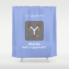 Back to the Future - Flux Capacitor Shower Curtain