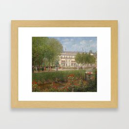 Otto Albert Koch (1866–1920) View of the Hotel and Spa in Baden-Baden Framed Art Print