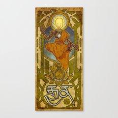 Enlightened Filament Canvas Print