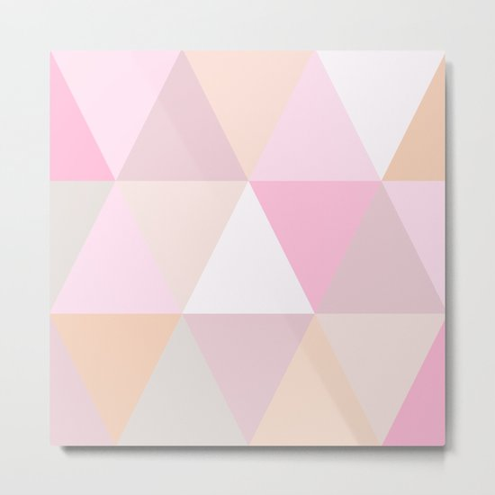 CANDY TRIANGLE Metal Print