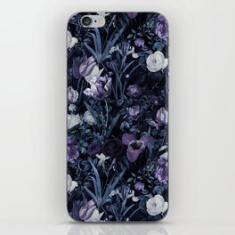EXOTIC GARDEN - NIGHT XII iPhone Skin