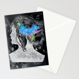 Perfil Series: Stencil 1 (Grey Wash and Color 1--Inverted) Stationery Cards