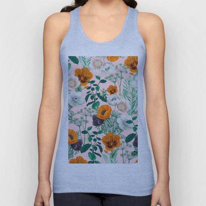 Wildflowers #pattern #illustration Unisex Tank Top