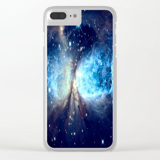 A Star is Born Teal Clear iPhone Case