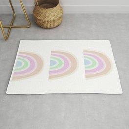 Pastel Rainbows Rug