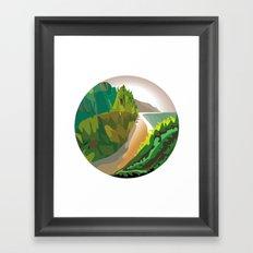 Mismaloya Framed Art Print