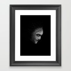 Out of the darkness - ipad painting Framed Art Print