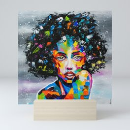 EXOTIC GIRL Mini Art Print