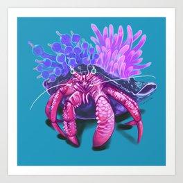 crabby boi Art Print