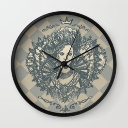 Long Live the Queen Wall Clock