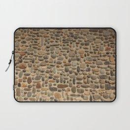 Mosaic Pebble Wall Laptop Sleeve
