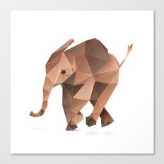 Elephant. Canvas Print