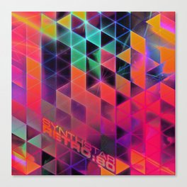 synthstar retro:80 Canvas Print