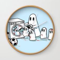 Cleanup Wall Clock