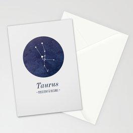 Taurus Constellation Stationery Cards