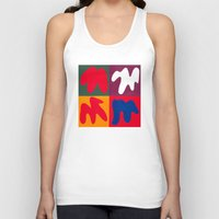 matisse Tank Tops featuring M for Matisse by CHOCOLORS