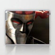 Rusty Joints Portrait Laptop & iPad Skin