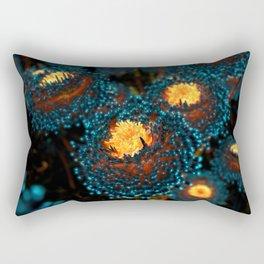 Electric Dahlia Rectangular Pillow
