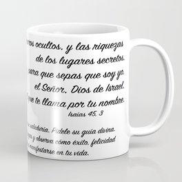 Ojo galaxia - Isaías 45, 3 Coffee Mug