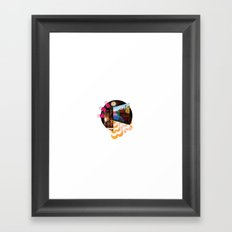 i would go out but (i'd rather just watch youtube videos honestly) Framed Art Print