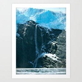Prince William Sound, Alaska Art Print