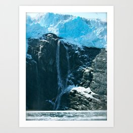Prince William Sound, Alaska Art Print