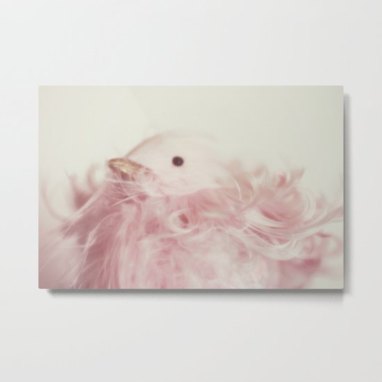 pink chick Metal Print